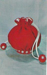 Enchanted Evening Bag , National Handicraft Institute , 50-60s