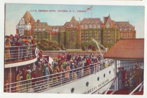 P946 1947 ship princess kathleen & empress hotel victoria B.C. canada