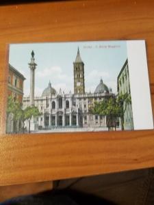 Antique Postcard entitled, Roma - S. Maria Maggiore  Unposted