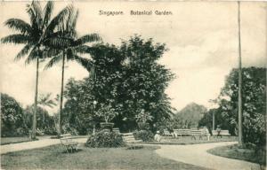 Singapore Postcard Botenical Garden (a1396)