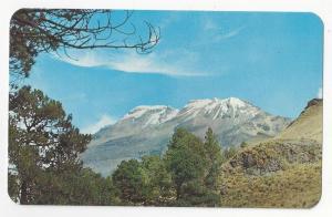 Mexico Ixtaccihuatl Volcano Mountain Vintage Postcard