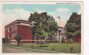 FOREST CITY , North Carolina , 1942 ; High School
