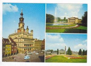 3 Different Views Of Poznan, Poland, 1940-1960s