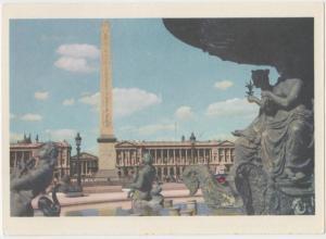 PARIS, La Place de la Concorde, unused Postcard