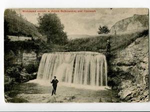 271076 POLAND Ojcow Dolina Bedkowska waterfall 1911 year PC