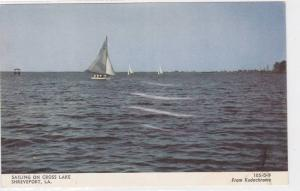 Sailing on Cross Lake,  Shreveport,  Louisiana,   40-60s