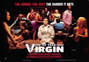 Postcard The 40 Year-Old Virgin, Steve Carell, Film/Movie Advertising Card D50
