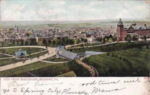 Pennsylvania Reading City From Boulevard