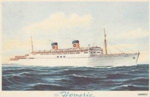 Home Lines Ocean Liner s/s Homeric , 1930s