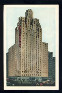 New York, New York/NY Postcard, Hotel Wellington, Old Cars