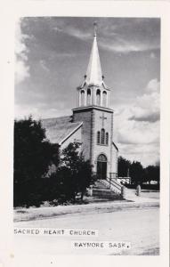 RP: RAYMORE , Saskatchewan , Canada , 1930-40s; Sacred Heart Church