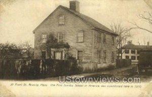 Sunday School - Beverly, Massachusetts MA