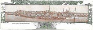 Ansichtskarten VINTAGE POSTCARD GERMANY - GRUSS AUS: LUBECK Lübeck : DOUBLE CARD