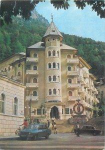 Romania Cerna Hotel Baile Herculane Postcard
