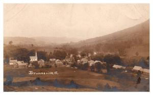 Aerial View of Brownsville , Vermont ,  RPC