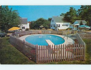 Unused Pre-1980 CLEAR VIEW MOTEL Cape Cod - East Dennis Village MA u0143