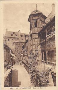Strasbourg , France , PU-1924 ; Cour du Corbeau