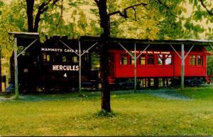 Kentucky Mammoth Cave Hercules Locomotive Mammoth Cave Railroad