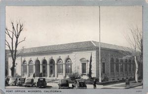 Post Office, Modesto, California, Early Postcard, Unused