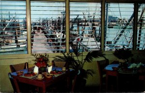 Florida Key West A & B Lobster House Restaurant Harbor View From Dining Room ...