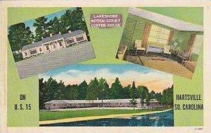 South Carolina Hartsville Lakeshore Motor Court Coffee House
