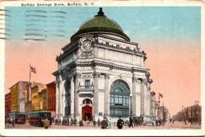 New York Buffalo Buffalo Savings Bank 1917