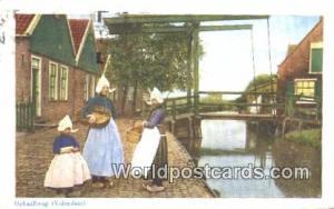 Volendam Netherlands, Nederland Ophaalbrug  Ophaalbrug