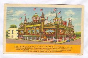 The World's Only Corn Palace, Mitchell, South Dakota, PU-1940