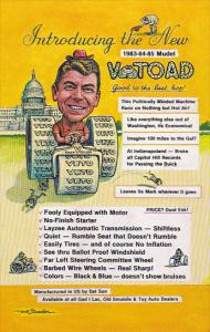 Ronald Reagan Introducing The New Vetoad