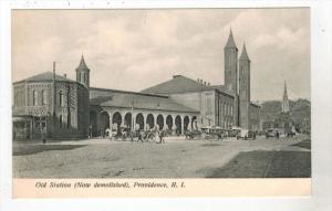 2788 RI Providence  Original Union  R.R. Station