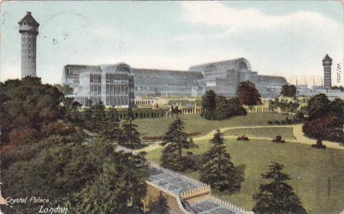 England London The Crystal Palace 1905