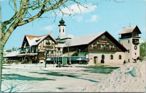 Frankenmuth Bavarian Inn Michigan MI Unused Vintage Postcard D76