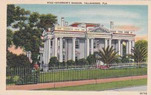 Florida Tallahassee Governors Mansion