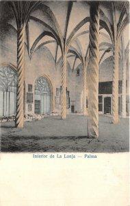 uk42825 interior de la lonja palma spain mallorca
