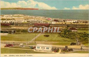 Modern Postcard General View Dawlish Warren