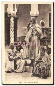 Old Postcard Arab Interior