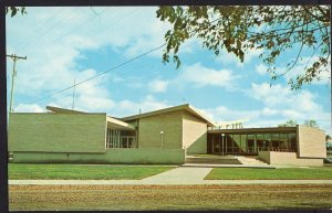 Manitoba ~ Civic Administration Building STEINBACH Chrome 1950s-1970s