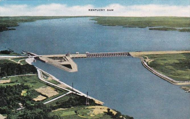 Kentucky The Kentucky Dam 1951