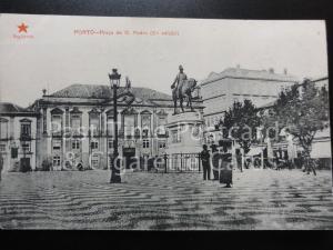PORTUGAL: Porto - Praca de D. Pedro (2,a edicao) Old Postcard