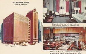 ATLANTA, Georgia, 1940-60s; The Dinkler Plaza, Elegant suite and The Knife & ...