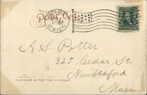Beloit WI State St. 1907 Used Postcard