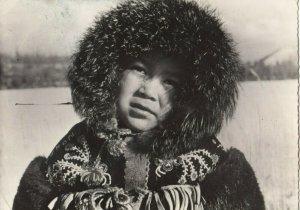 RP: Native Child , Petit Indien Klinket , Alaska , 1930s