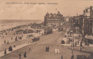 BLACKPOOL, England, 00-10s; New Promenade From Talbot Square