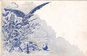 Patriotic Military Unit postcard , Italy , 00-10s ; Regg 29 Fanted