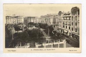 RP  Casablanca, Morocco, PU-1943, Le Square Gentil