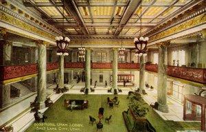 UT - Salt Lake City. Hotel Utah Lobby