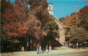 Nashville Indiana~Court House And Liars Bench~1950s PC