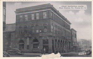 Pennsylvania West Newton First National Bank