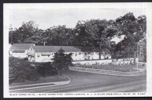 New Jersey CHEWS LANDING Black Horse Hotel Black Horse Pike on RT 42 -Printed PC