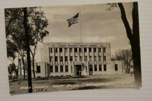 Jones County Courthouse Anamosa Iowa Vintage Postcard 1952 Unposted  550